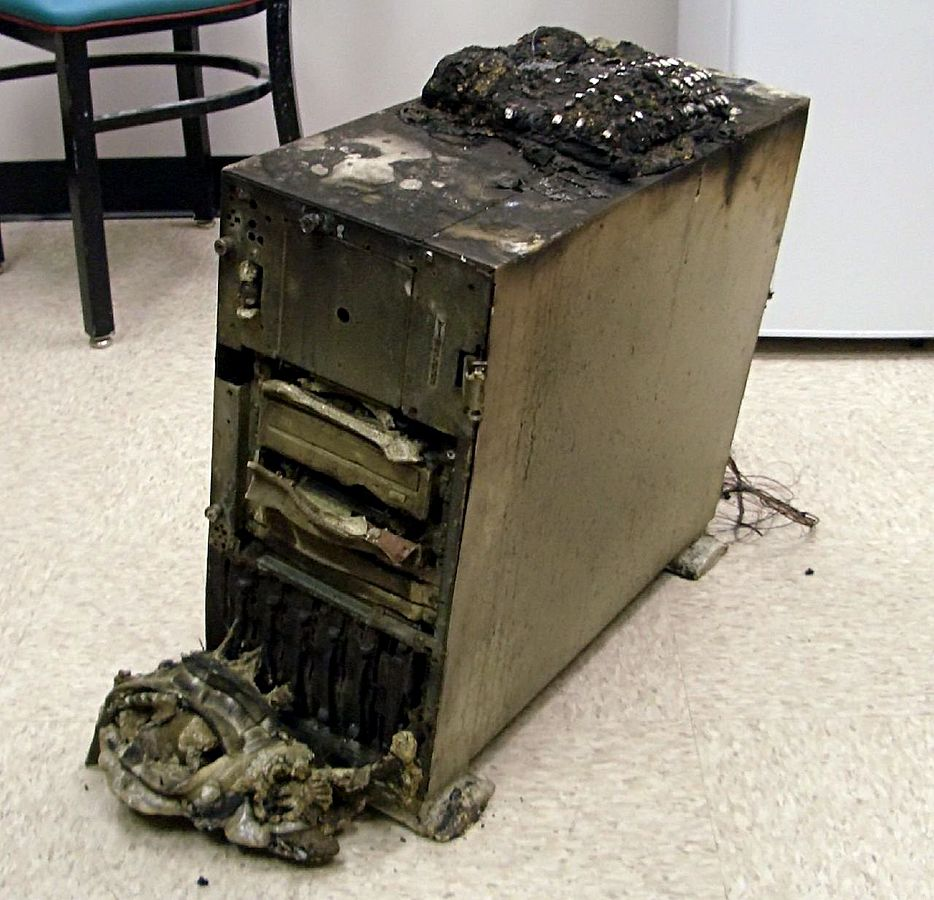 The importance of digital backups is demonstrated by sudden disasters such as fire